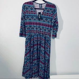Agnes and Dora Currie Dress Large